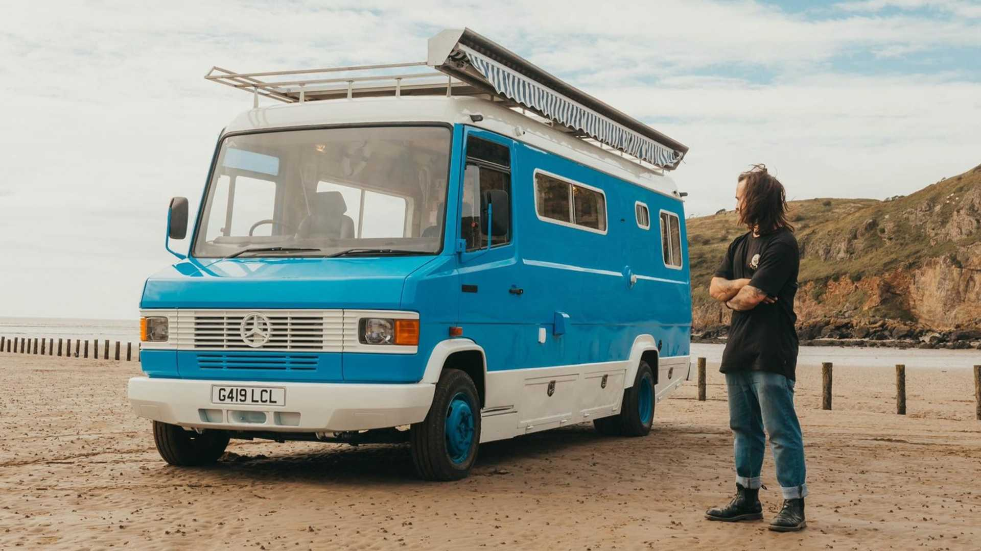 Mercedes T10 10D Bus Is Motorhome Restomod Done Right