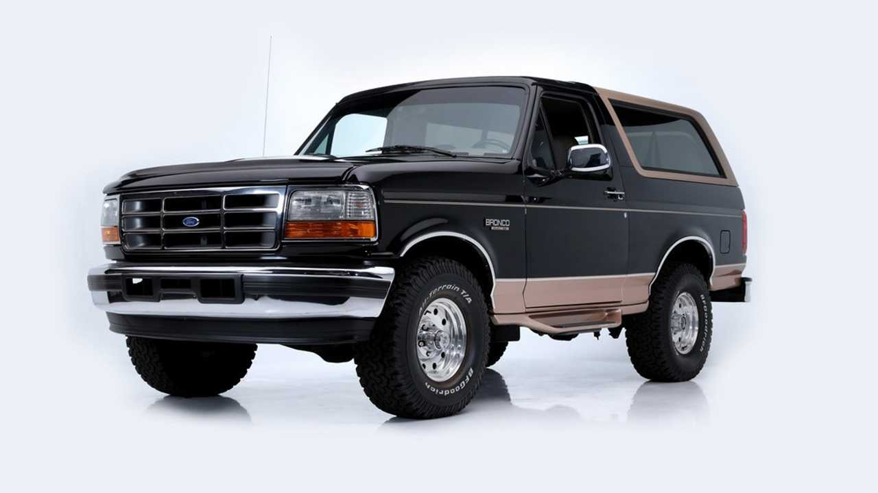Ford Bronco (1995) - Adjugée à 73'700 dollars