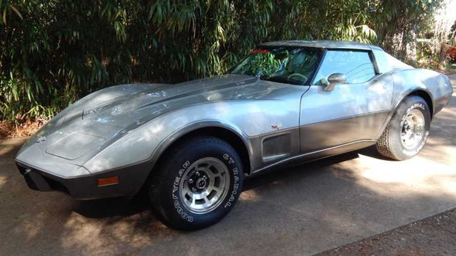 Get Ready To Bid On This 1978 Chevy Corvette
