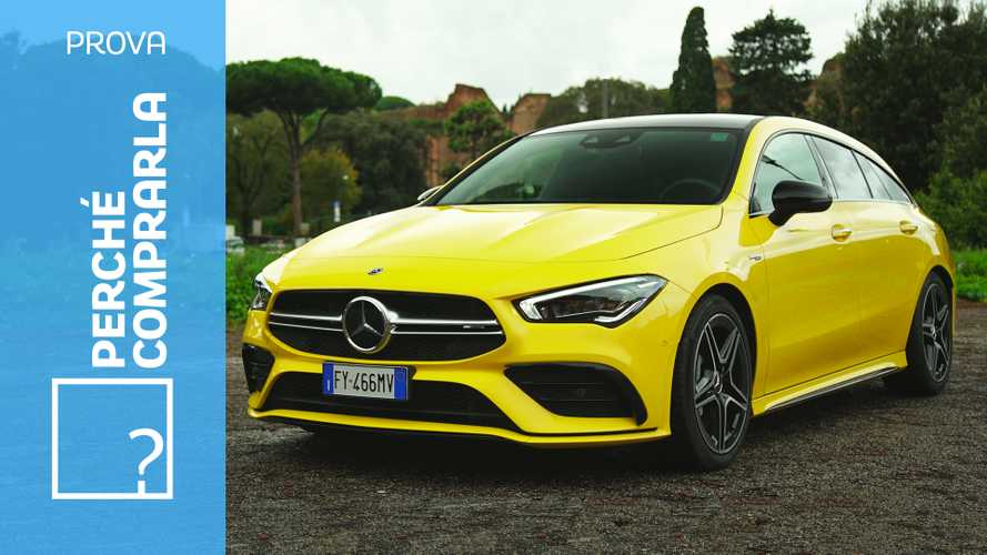Mercedes CLA Shooting Brake, perché comprarla e perché no