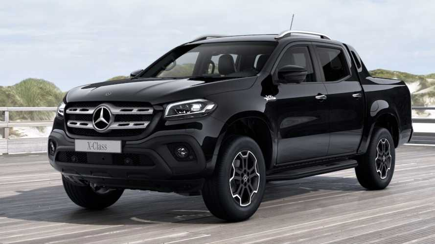 Mercedes X-Class Goes Dark With Black Package