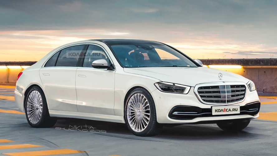 Next-Gen Mercedes S-Class Rendering Shows Off Updated Styling
