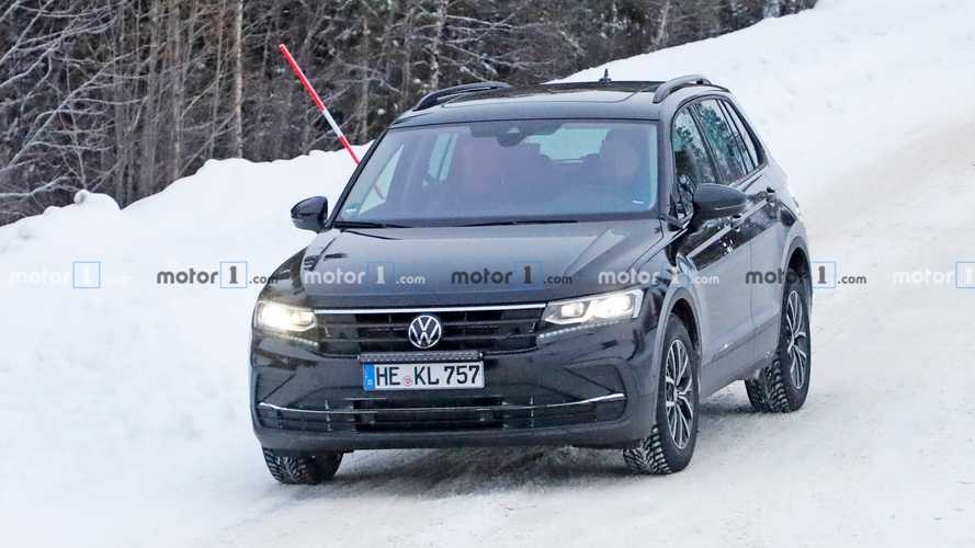 Volkswagen Tiguan restyling, le spy photo