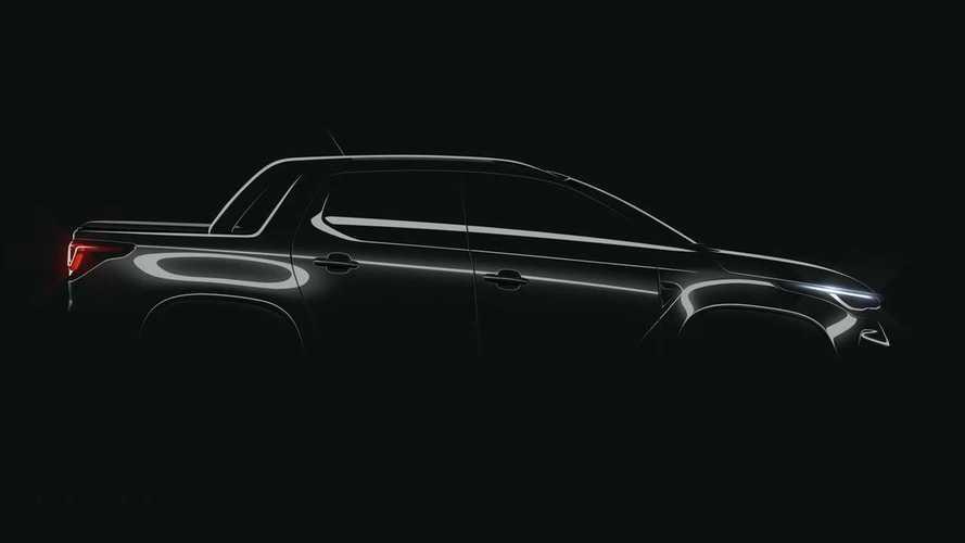 Fiat'ın Güney Amerika için üreteceği pickup modelinden ilk teaser geldi