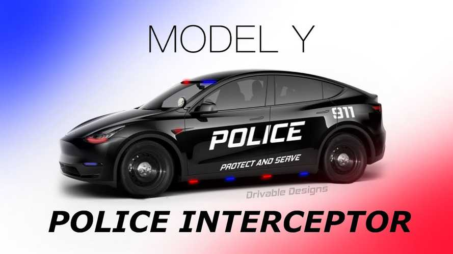 Police Department Adopts Tesla Model Y, Incentives Make It Possible
