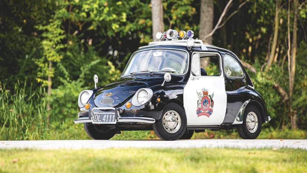 Subaru 360 1970 coche patrulla