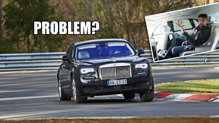 Rolls-Royce Ghost Feels Calm Even When Pushed At The Nurburgring