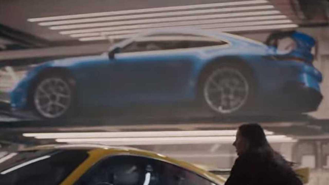 Porsche 911 GT3 Super Bowl teaser