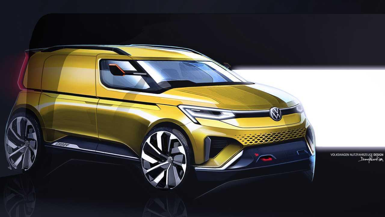 Volkswagen Caddy 5 disegni ufficiali