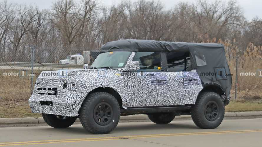 Ford Trademarks Wolftrak Name, Could Be Special Edition Bronco