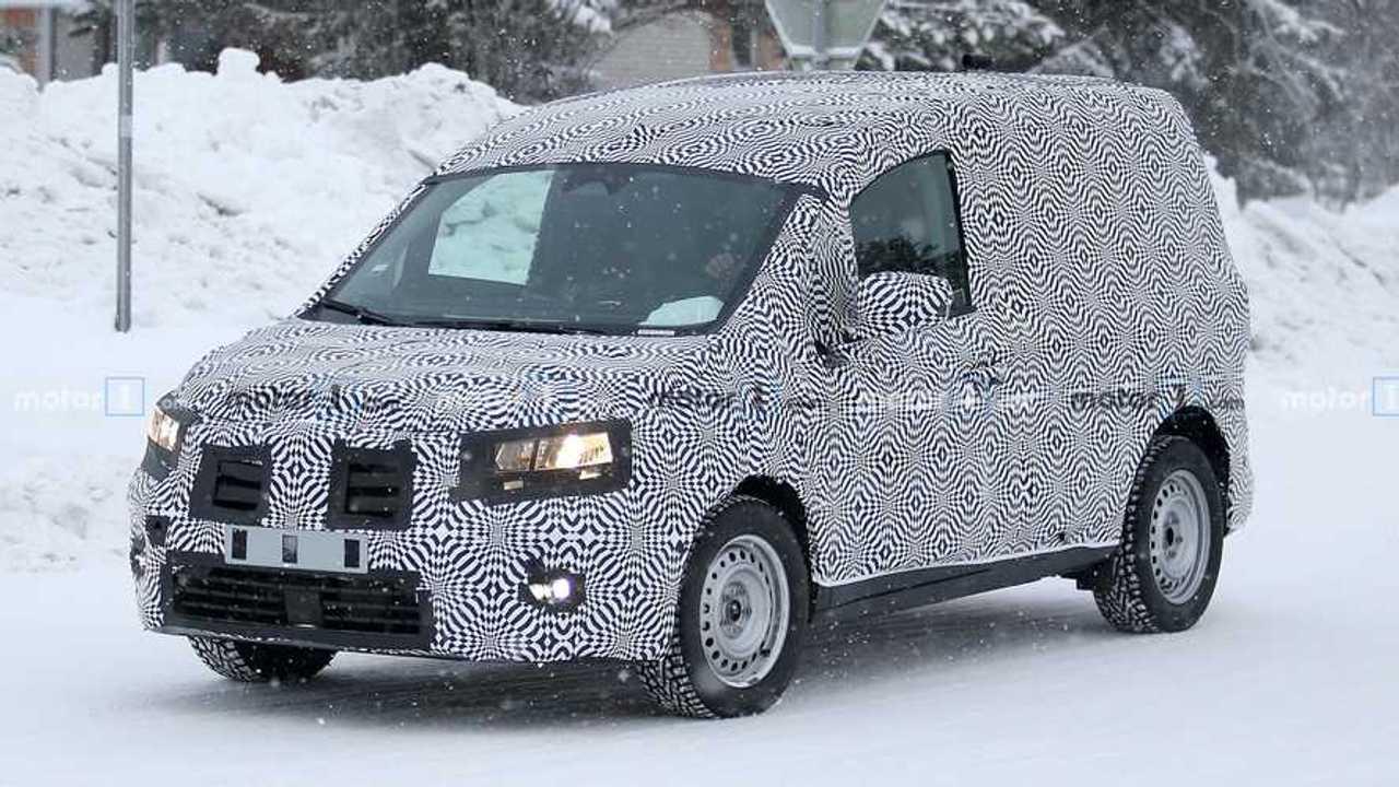 Nuove foto-spia del prossimo Renault Kangoo