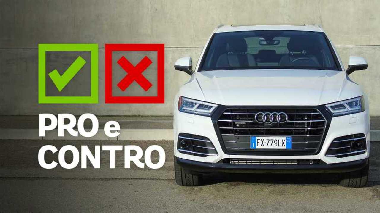 Audi Q5 55 TFSI e quattro S tronic S line plus, pro e contro