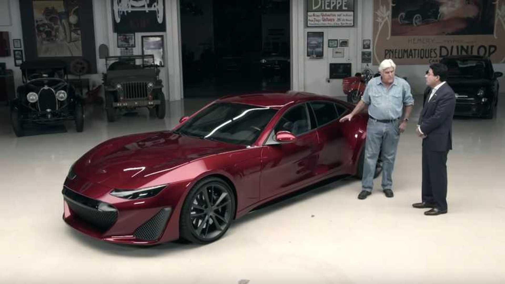 Jay Leno Left Wanting By $1.3-Million Drako GTE EV Hypercar