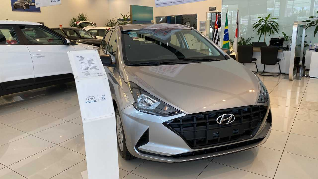Hyundai HB20 2020 (loja)
