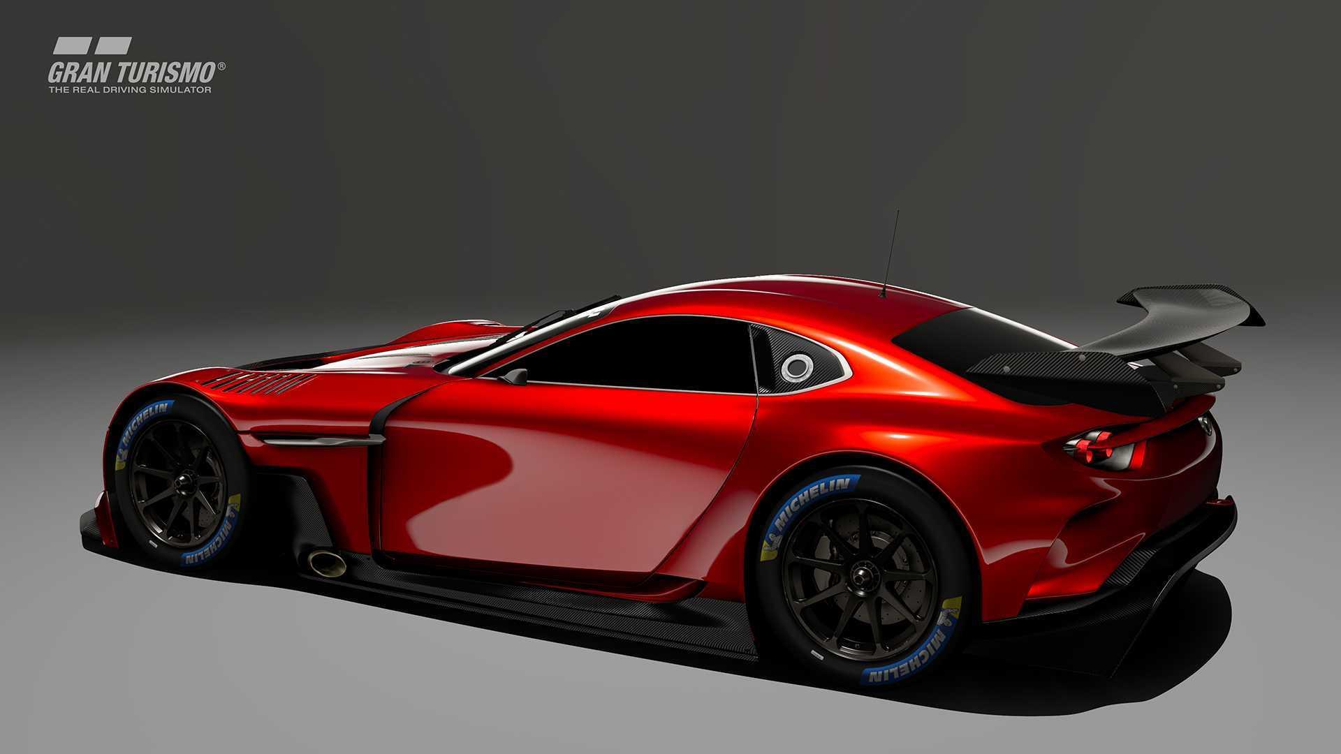 Concursa y podrás conducir el Mazda RX-Vison GT3 Concept