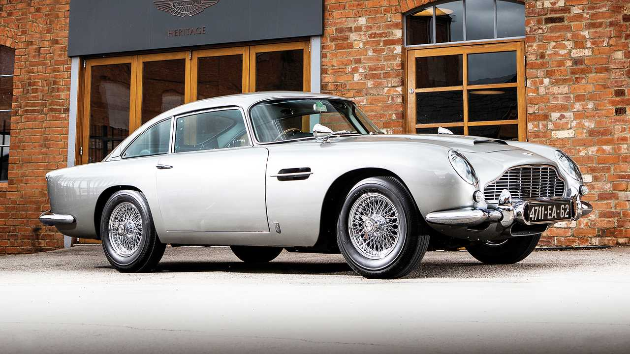 Aston Martin DB5 'Bond Car' (1965) - 5,7 millones de euros