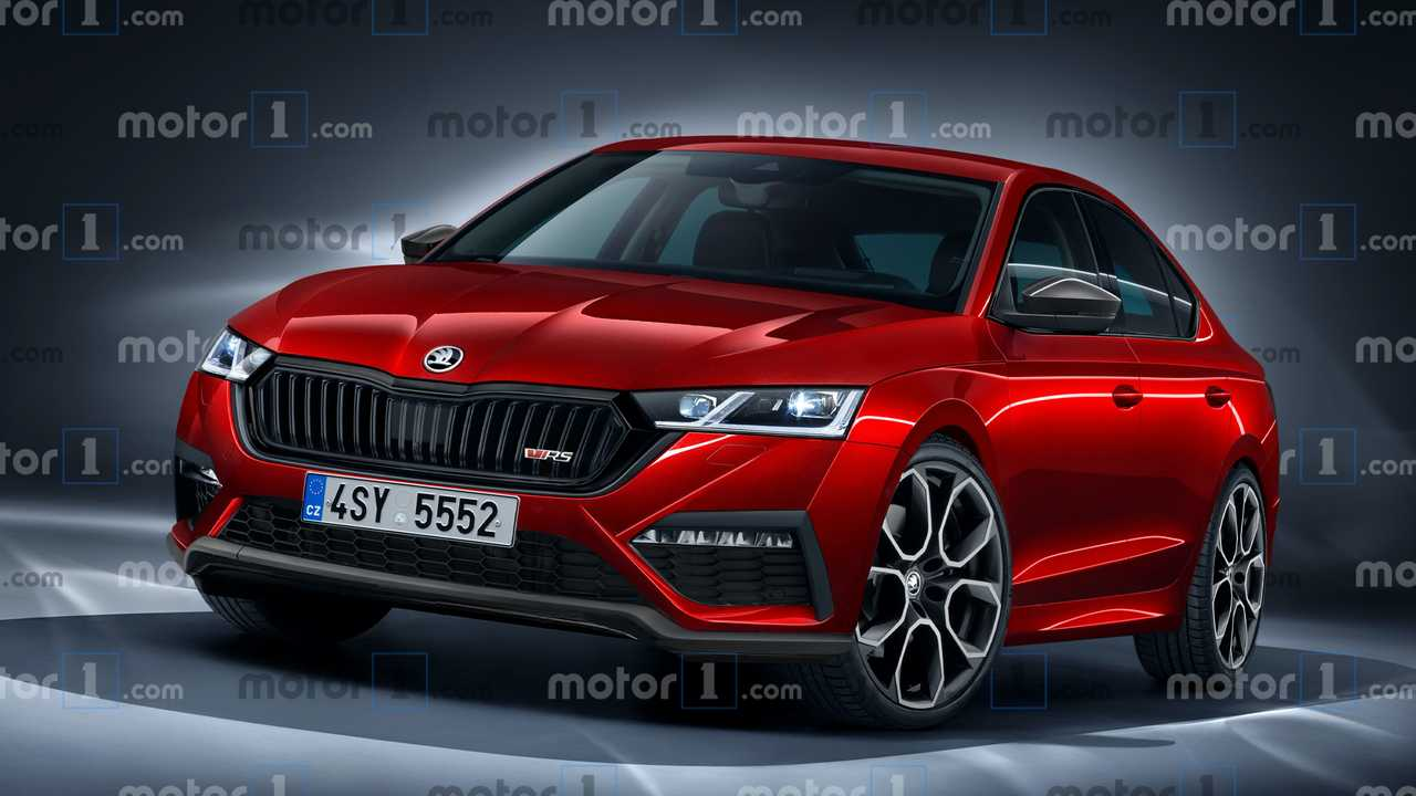 Découvrez notre illustration de la future Škoda Octavia RS