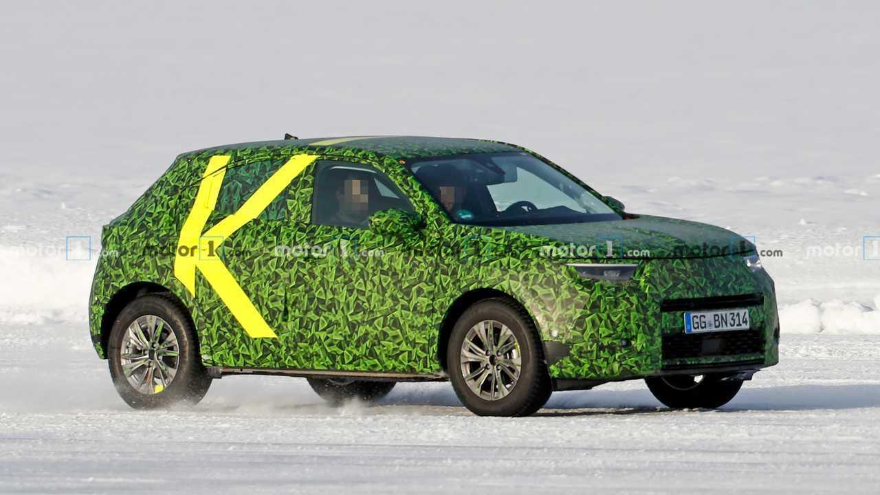 Opel Mokka 2021, fotos espía