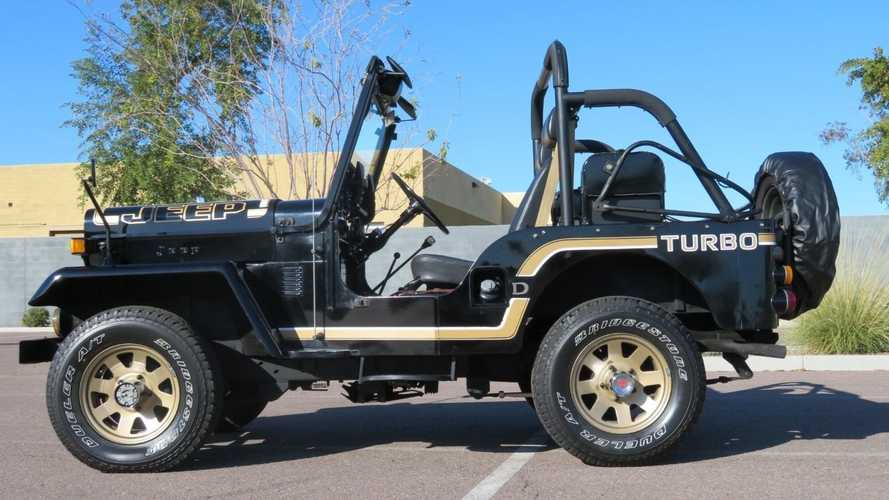 1991 Mitsubishi J53 Is A JDM Jeeper
