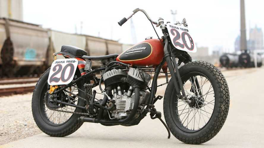 You Could Win This Vintage Harley Flat Tracker In A Raffle