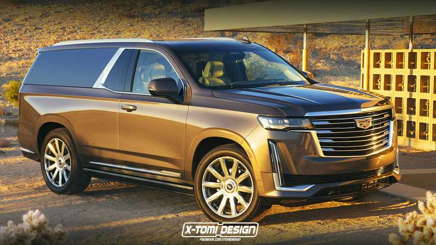 Cadillac Escalade Two-Door Rendering Is The Impractical SUV We Need