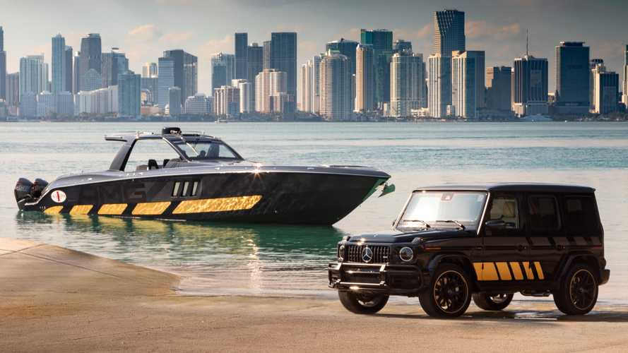 Mercedes-AMG Debuts 2,700-HP Cigarette Boat And Matching G63