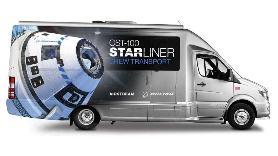 Airstream Astrovan II Unveiled To Ferry Astronauts In 2020