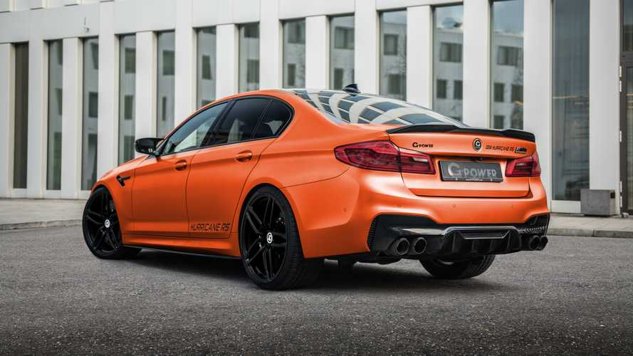 BMW M5 Hurricane RS por G-Power