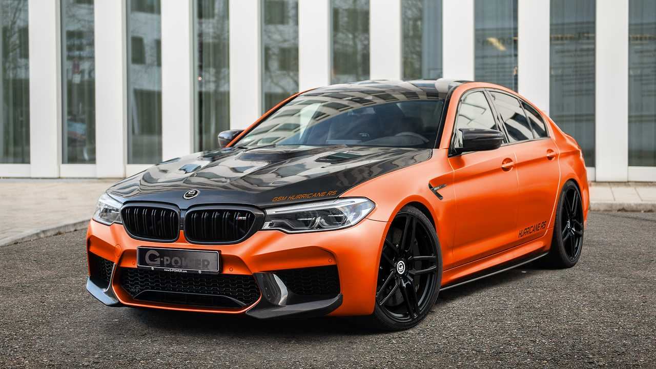 G-Power BMW M5 - G5M HURRICANE RS