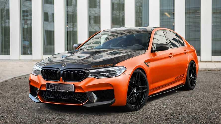 350 km/h! BMW M5 von G-Power rockt Sie wie ein Hurricane