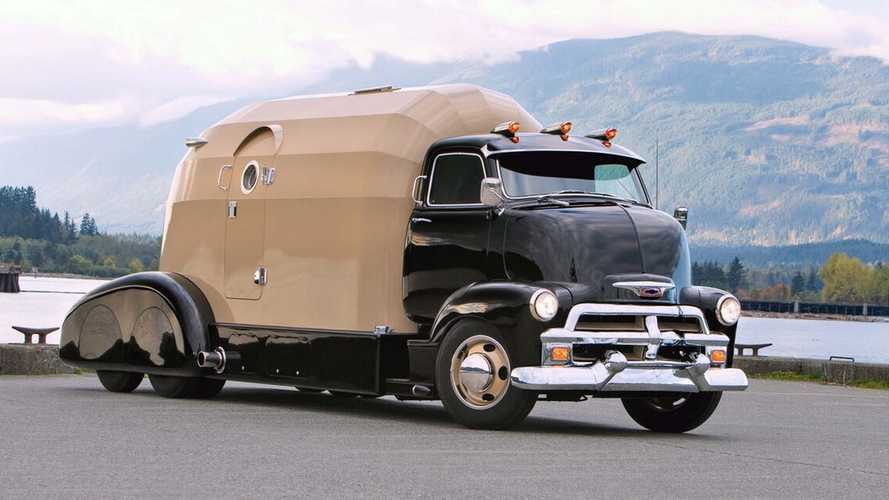Custom 1954 Chevrolet Tourliner Is A Hotrodder's Motorhome