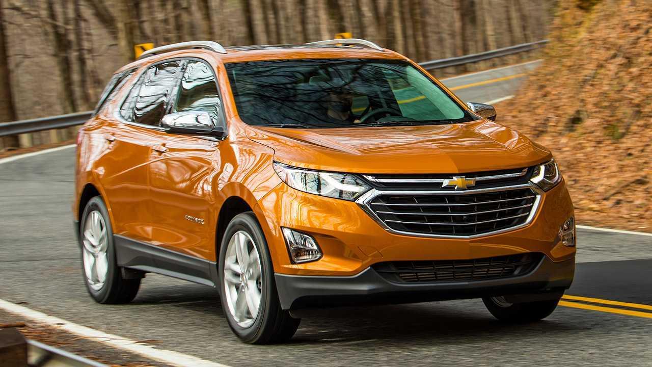 7. Chevrolet Equinox: 1 State