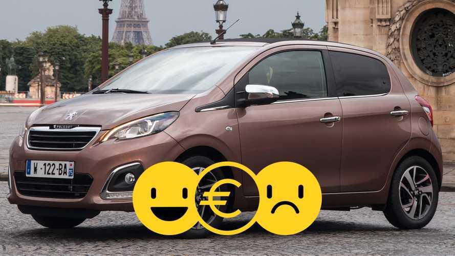 Promozione Peugeot 108, perché conviene e perché no