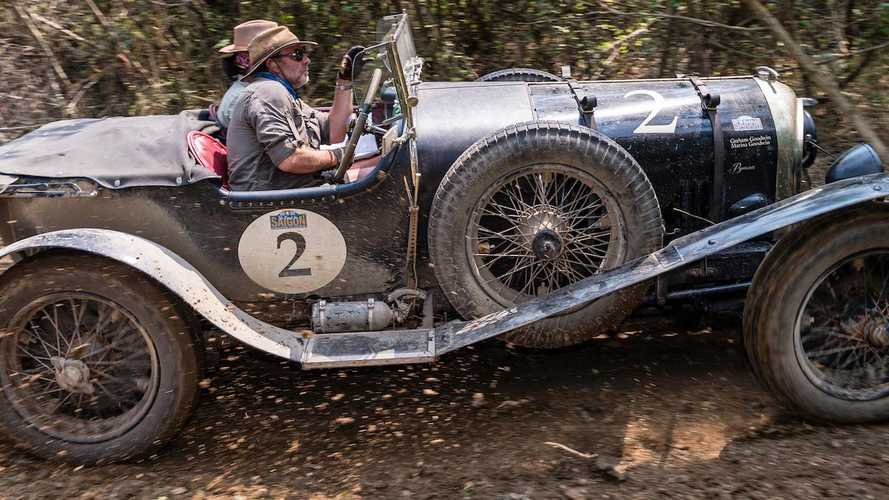 1925 Bentley leads 8600km Road to Saigon rally from start to end