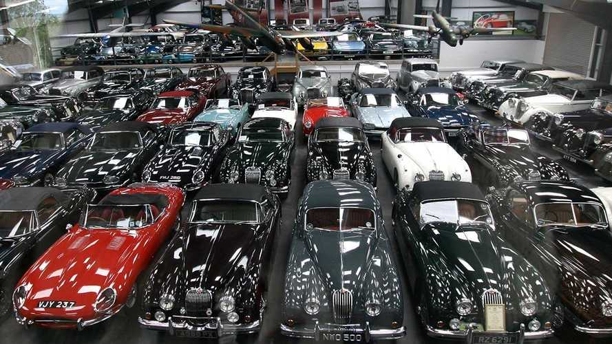 How did Dr James Hull build his 543-car collection?