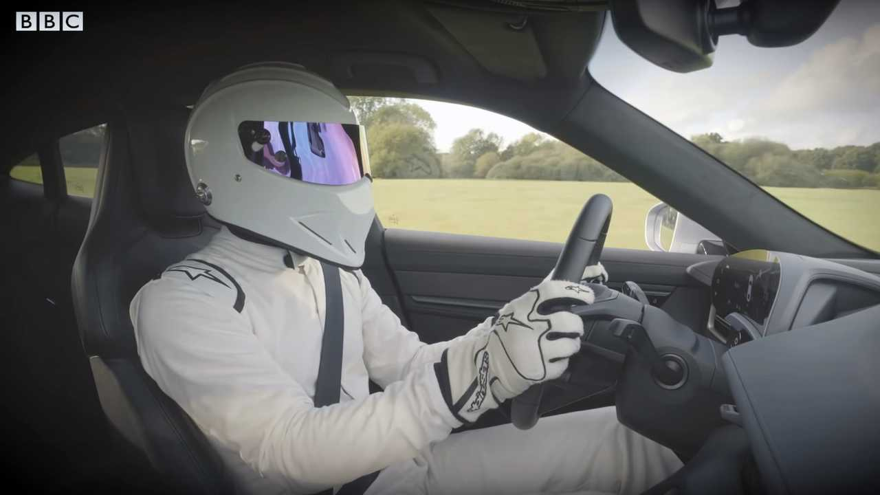 The Stig Drives Porsche Taycan Turbo S