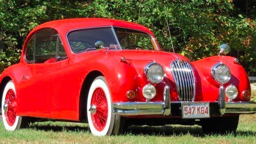 Classifieds Hero: 1955 Jaguar XK140 Type C
