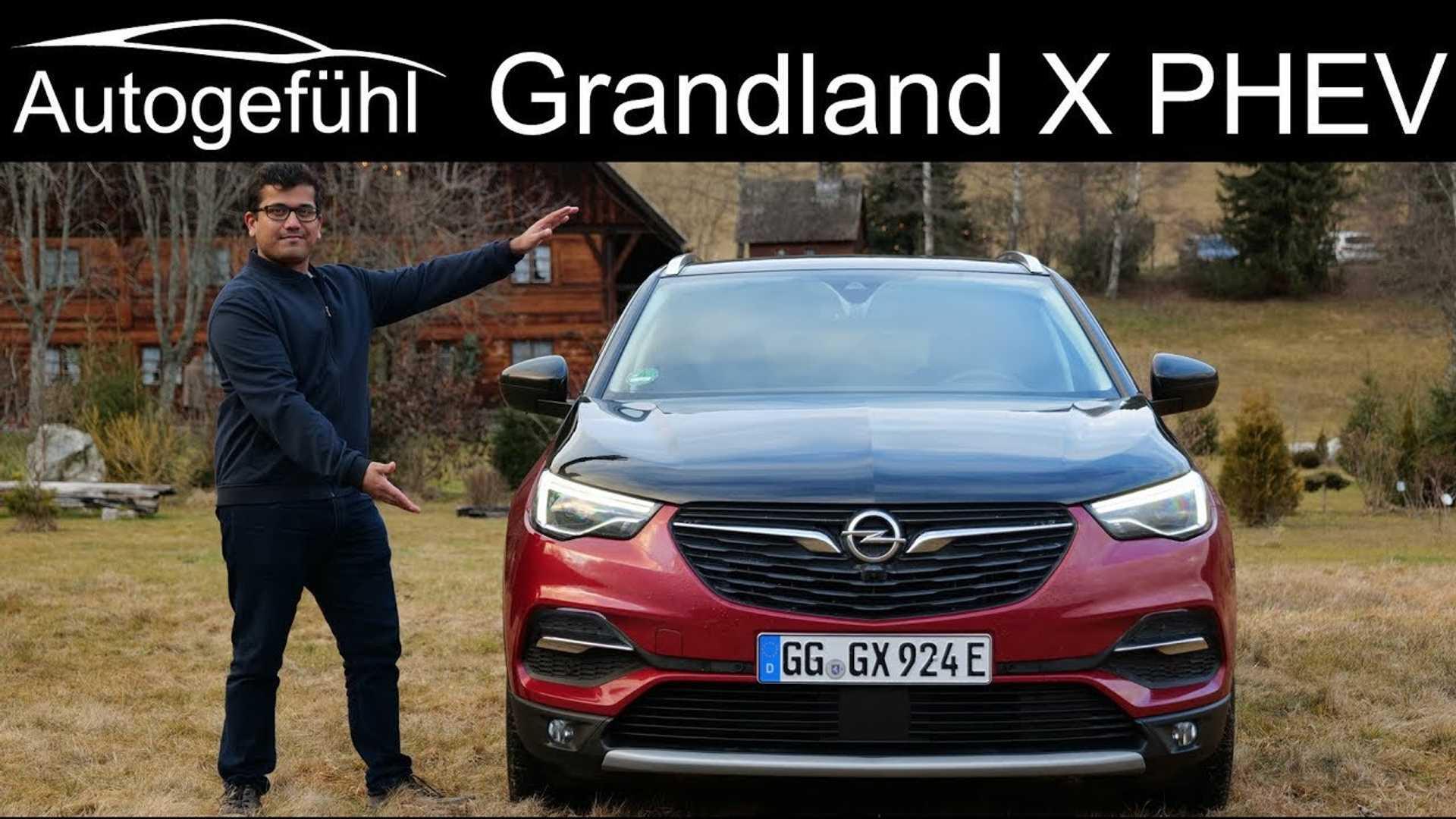 Opel Grandland X Hybrid4 Featured By Autogefühl: Video