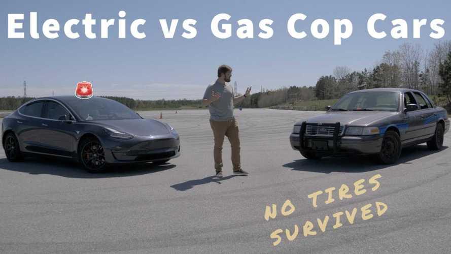 Tesla Model 3 Vs Crown Vic: Which Makes The Best Police Interceptor?