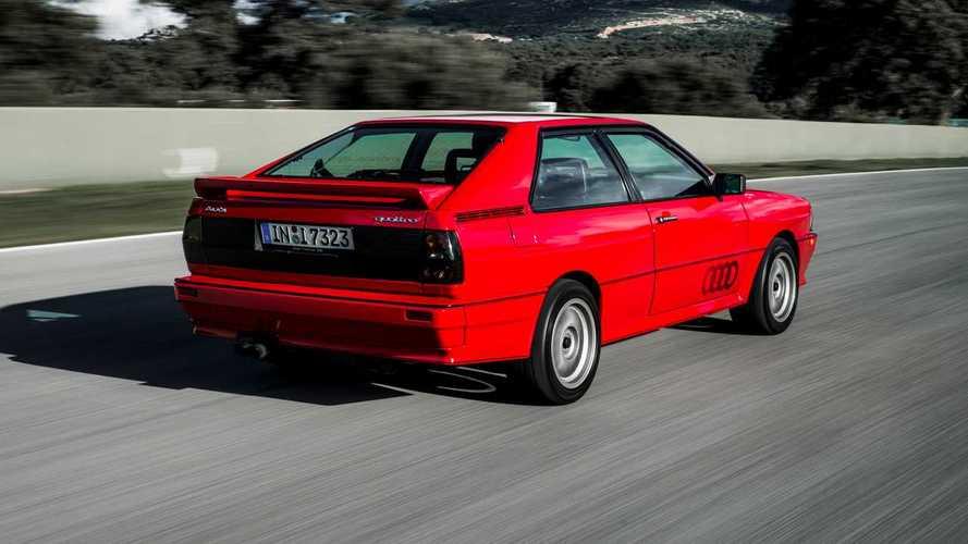 Audi quattro, 40 aniversario