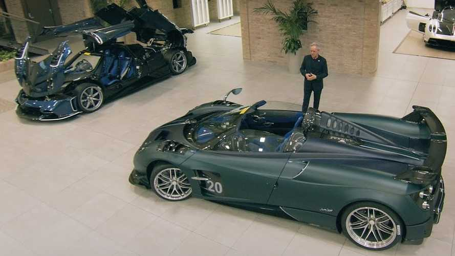Horacio Pagani Shows The Cars He Wanted To Bring To Geneva