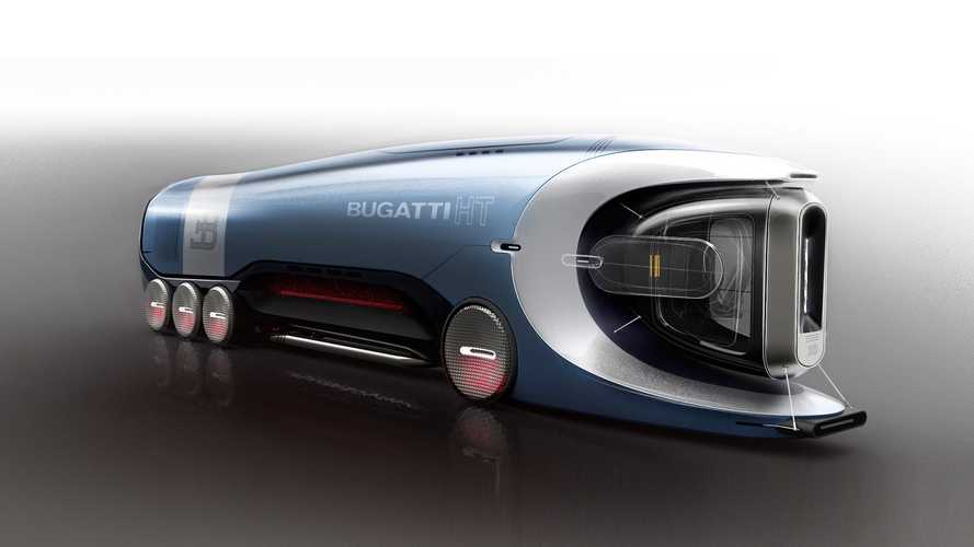 This Bugatti hyper truck concept is the fastest fictional lorry