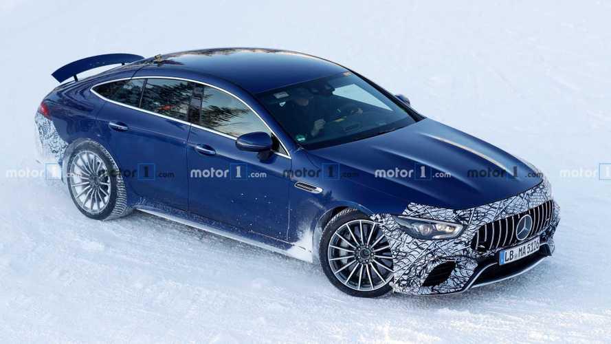 La Mercedes-AMG GT 73 Coupé 4 portes s'apprête à lâcher les chevaux