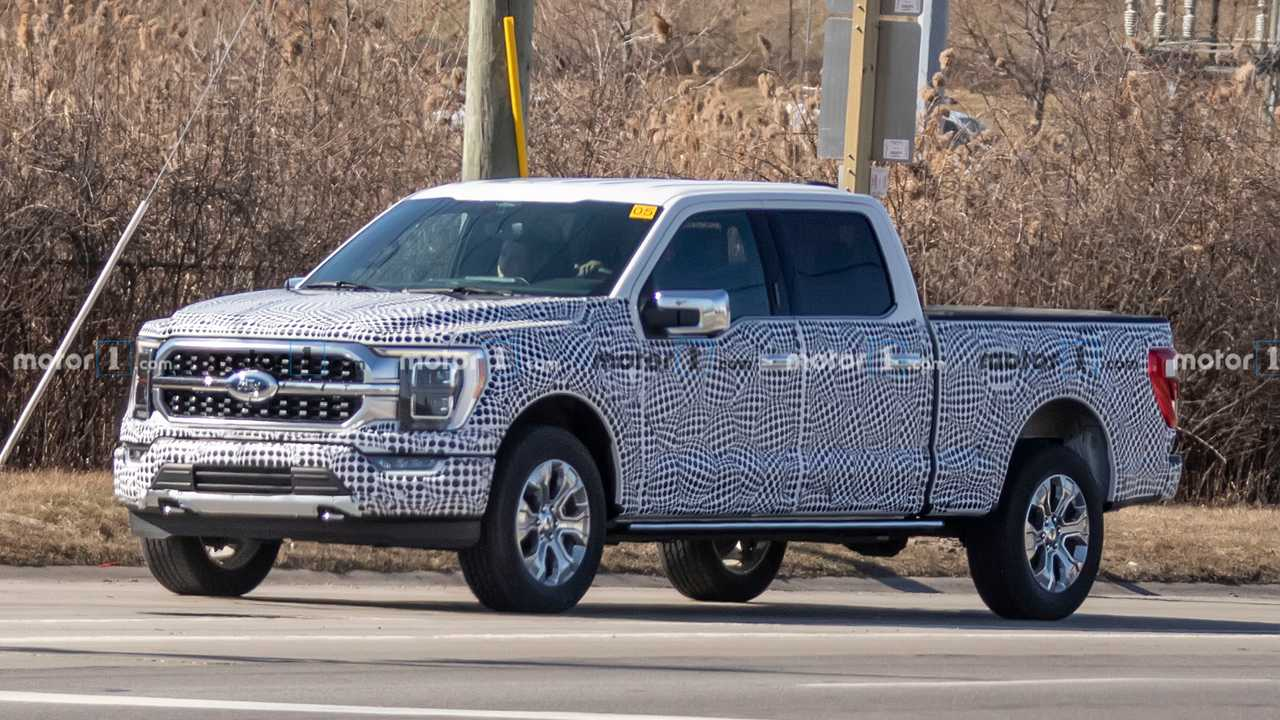 2021 Ford F-150 Spy Shot