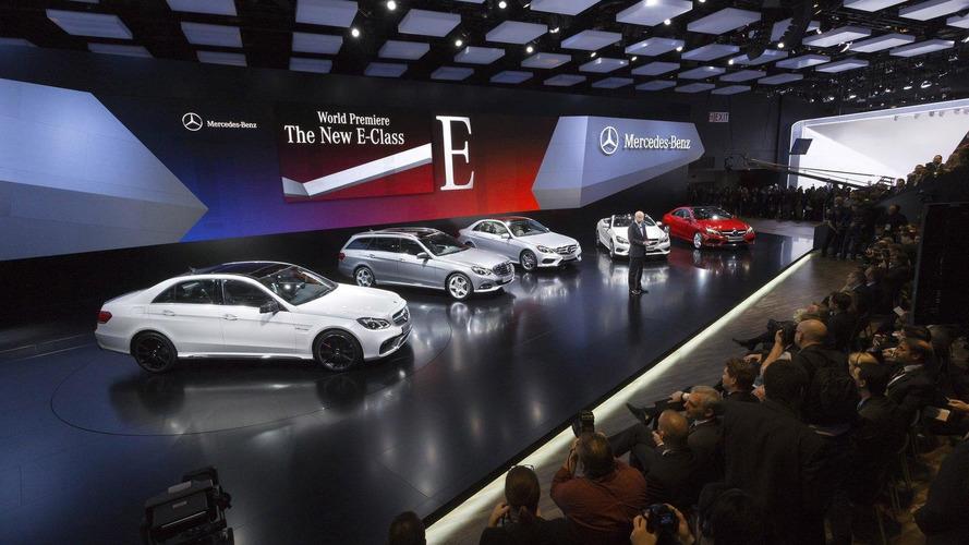 Facelifted 2014 Mercedes E-Class lineup graces Detroit