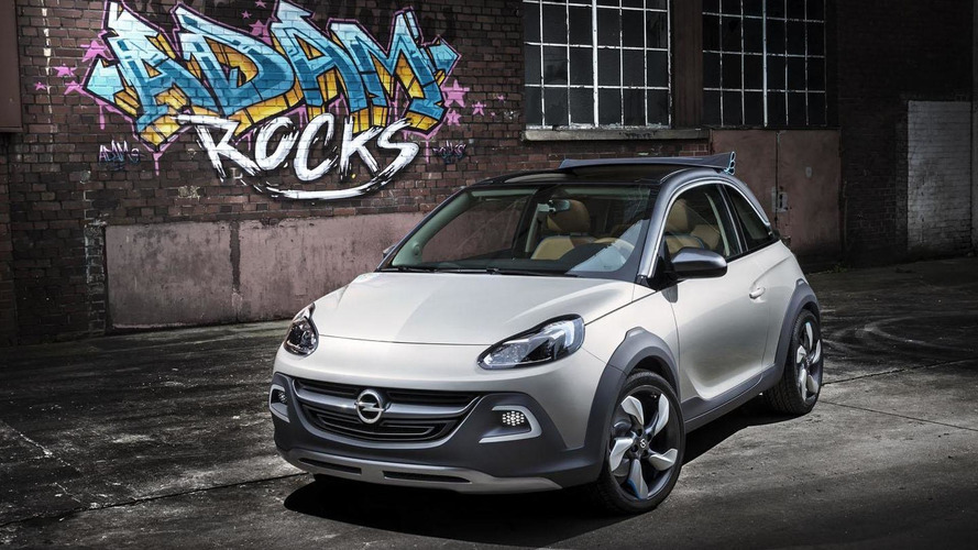 Opel Adam crossover coming late next year - report