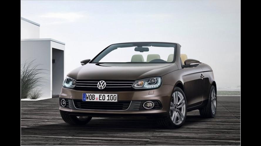 Neues Gesicht: VW hat den Eos überarbeitet