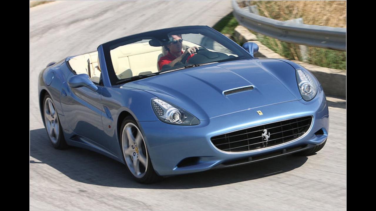 Ferrari California F1-Schaltung