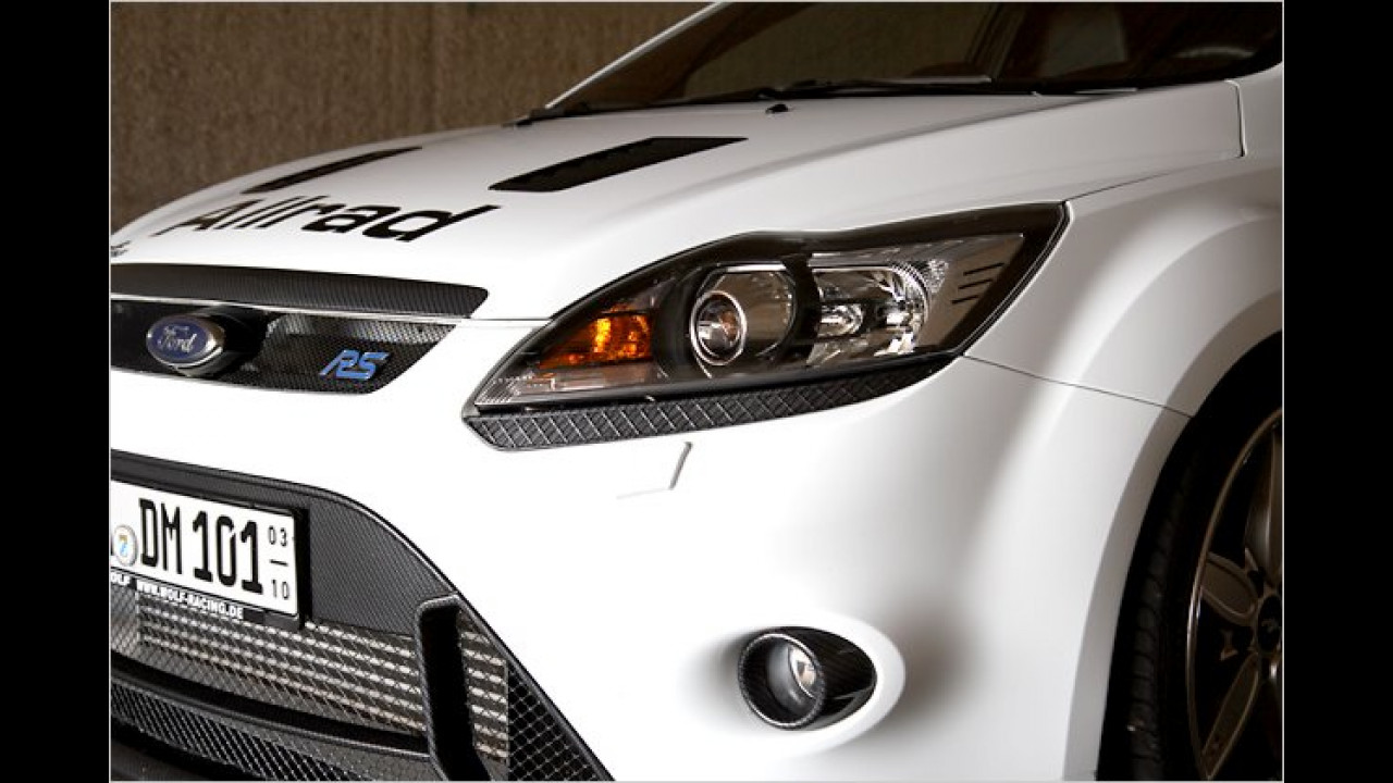 Wolf Ford Focus RS 400 mit Allradantrieb