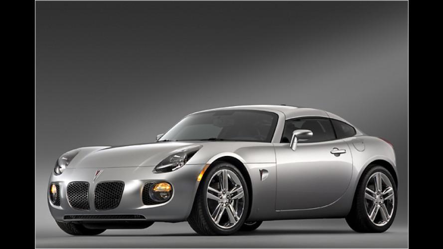 Pontiac Solstice Coupé: Ein Sportwagen für das ganze Jahr